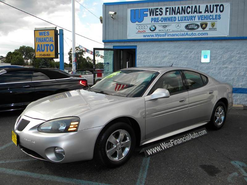 2007 pontiac grand prix gt loaded remote start in dearborn heights mi wes financial auto group. Black Bedroom Furniture Sets. Home Design Ideas