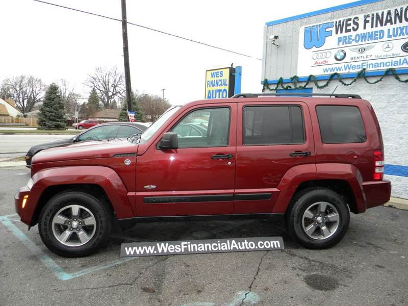 2008 jeep liberty sport 4x4 sunroof gas saver in dearborn heights mi wes financial auto dh. Black Bedroom Furniture Sets. Home Design Ideas