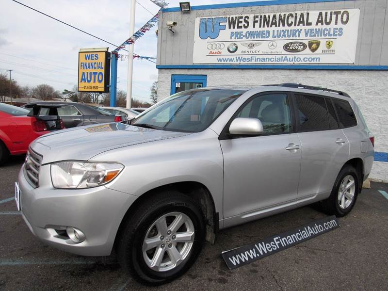 2010 toyota highlander se awd 3rd row rear camera. Black Bedroom Furniture Sets. Home Design Ideas