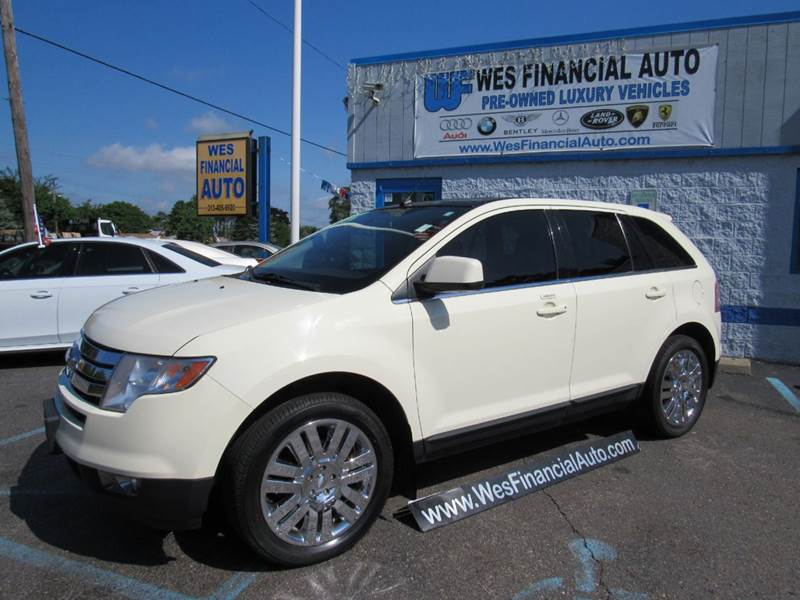 2008 ford edge limited awd loaded in dearborn heights mi for Ford edge motor oil type