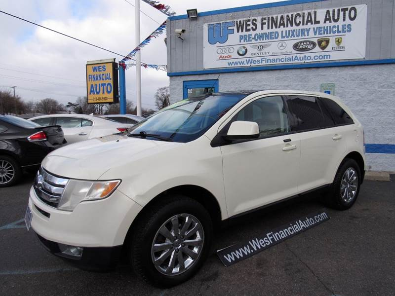 2007 ford edge sel plus 4dr suv in dearborn heights mi for Ford edge motor oil type