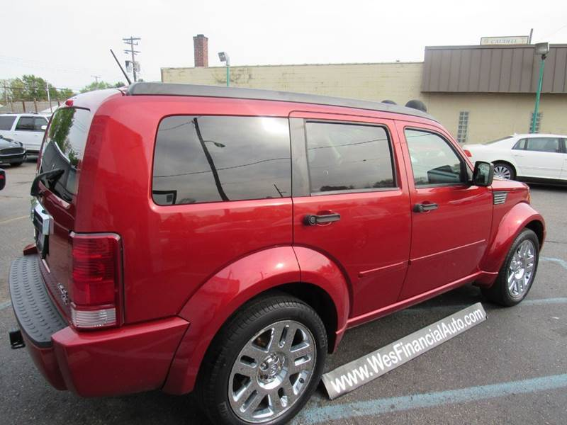 2007 dodge nitro r t 4wd 4dr suv loaded in dearborn heights mi wes financial auto group. Black Bedroom Furniture Sets. Home Design Ideas