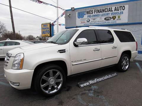 2008 Cadillac Escalade ESV for sale in Dearborn Heights, MI