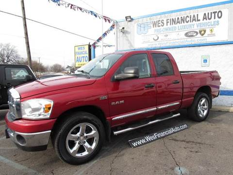 2008 Dodge Ram Pickup 1500 for sale in Dearborn Heights, MI