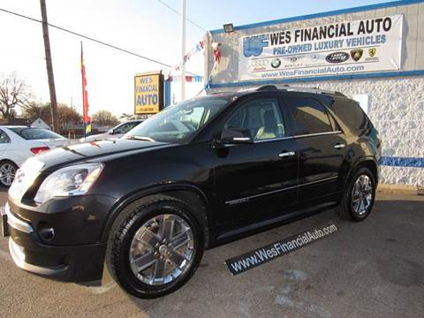 2011 GMC Acadia for sale in Dearborn Heights, MI