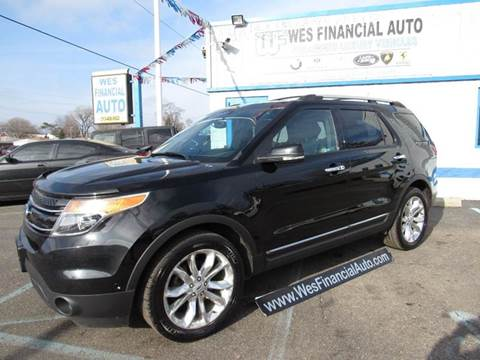 2012 Ford Explorer for sale in Dearborn Heights, MI