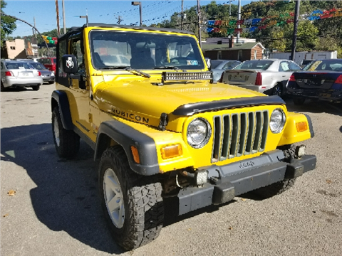 2004 Jeep Wrangler for sale in Pittsburgh, PA