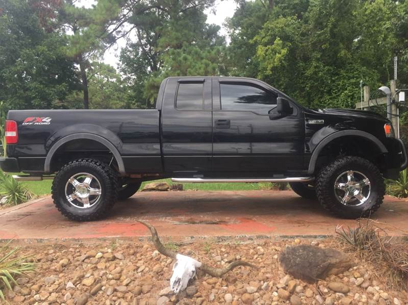 2004 ford f 150 4dr supercab fx4 4wd styleside 6 5 ft sb in dickinson tx texas truck sales. Black Bedroom Furniture Sets. Home Design Ideas