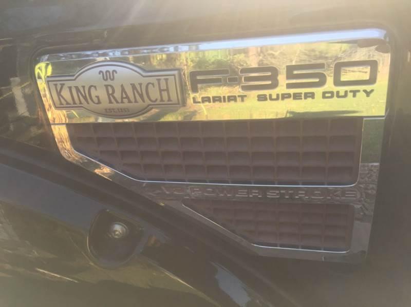 2010 Ford F-350 Super Duty 4x4 King Ranch 4dr Crew Cab 8 ft. LB SRW Pickup - Dickinson TX