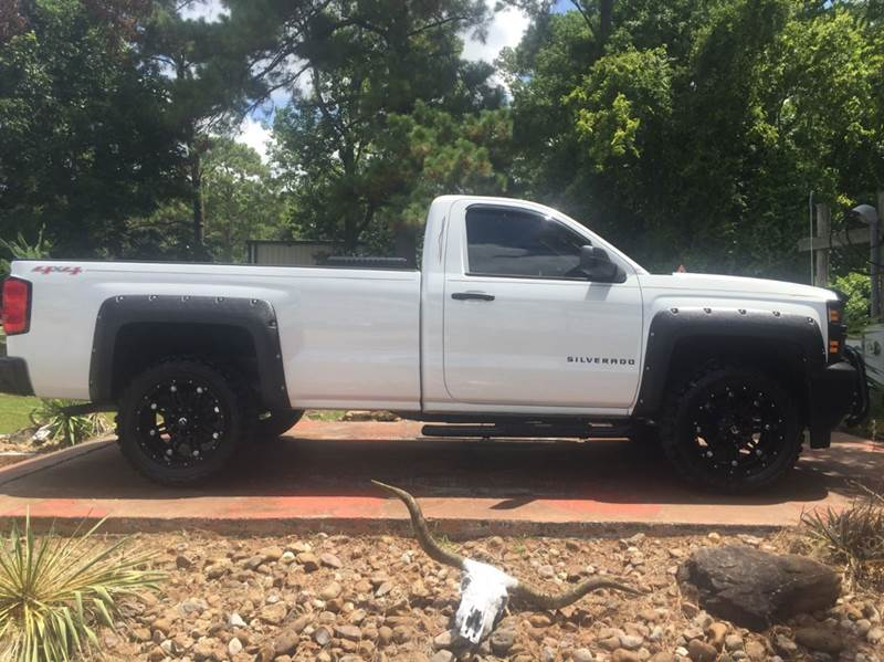 2014 chevrolet silverado 1500 work truck 4x4 2dr regular cab 8 ft lb w 2wt in dickinson tx. Black Bedroom Furniture Sets. Home Design Ideas