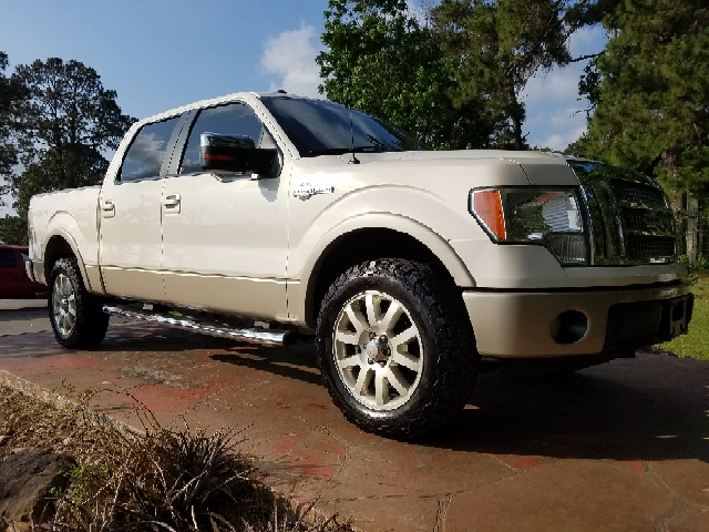 2009 ford f 150 4x4 king ranch 4dr supercrew styleside 5 5 ft sb in dickinson tx texas truck. Black Bedroom Furniture Sets. Home Design Ideas