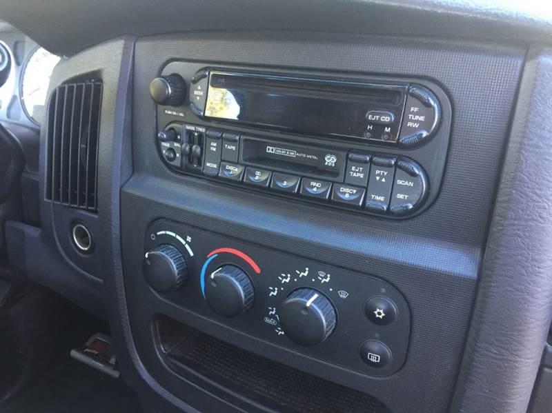 2003 Dodge Ram Pickup 3500 SLT 4dr Quad Cab Rwd SB - Dickinson TX