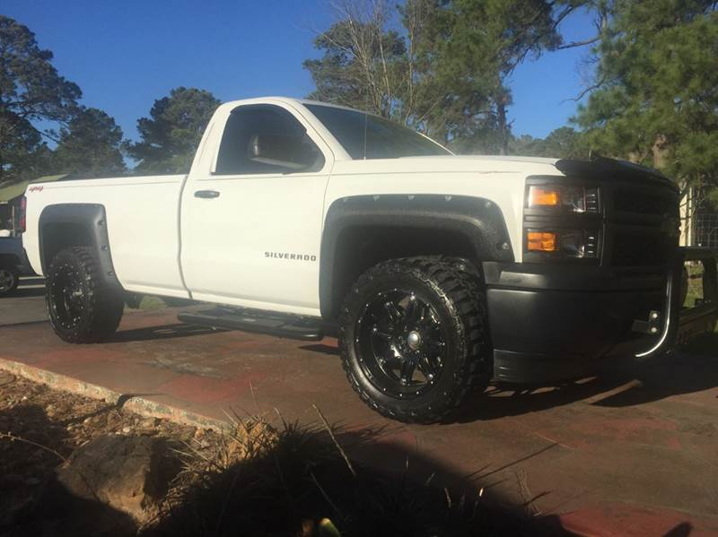2014 Chevrolet Silverado 1500 4x4 Work Truck 2dr Regular Cab 8 ft. LB w/2WT - Dickinson TX