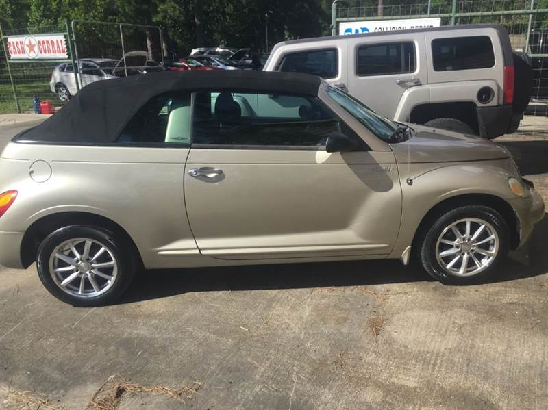 2005 chrysler pt cruiser 2dr touring turbo convertible in dickinson tx texas truck sales. Black Bedroom Furniture Sets. Home Design Ideas