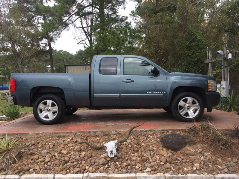 2008 chevrolet silverado 1500 2wd lt1 4dr extended cab 6 5 ft sb in dickinson tx texas truck. Black Bedroom Furniture Sets. Home Design Ideas