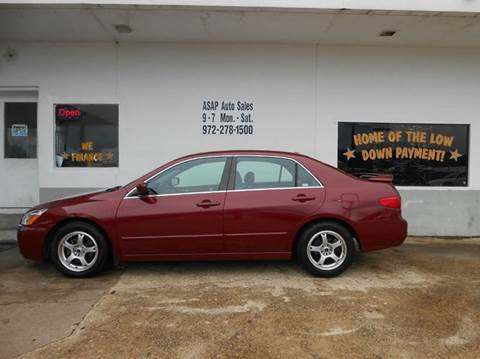 2005 Honda Accord for sale in Garland, TX