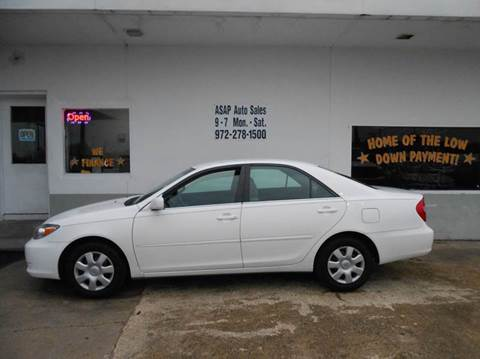 2004 Toyota Camry for sale in Garland, TX