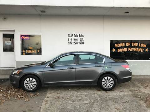 2010 Honda Accord for sale in Garland, TX