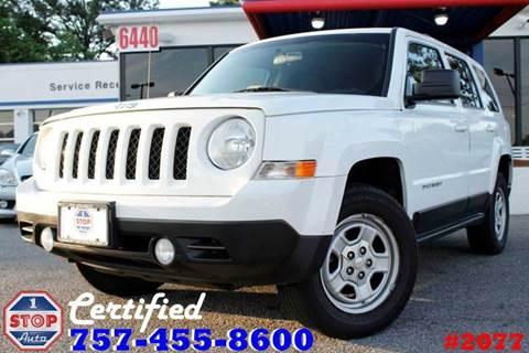 2012 Jeep Patriot for sale in Norfolk, VA
