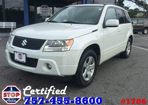 2009 suzuki grand vitara for sale for Frontier motors pensacola fl