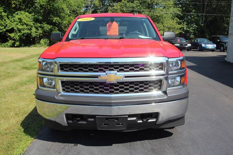 2014 Chevrolet Silverado 1500 4x4 Work Truck 4dr Double Cab 6.5 ft. SB w/1WT - Williamston MI