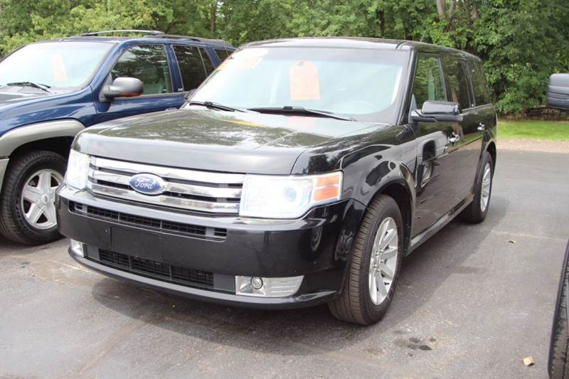 2009 FORD FLEX SEL CROSSOVER 4DR black if you are looking for a versatile vehicle our 2009 ford f