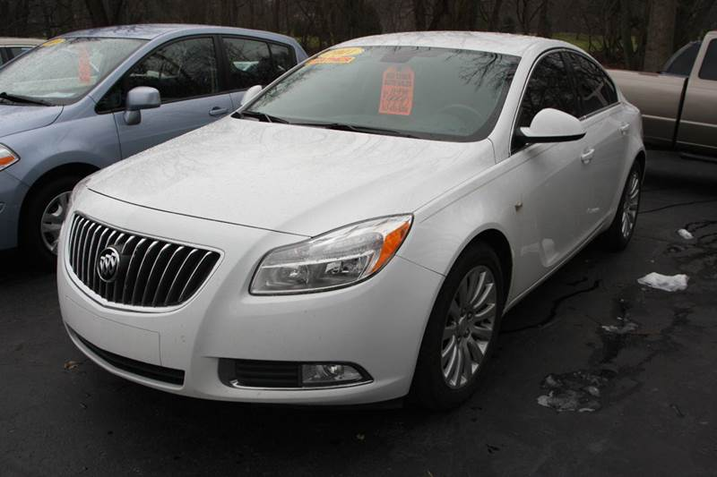 2011 BUICK REGAL CXL 4DR SEDAN WRL1 white come see our 2011 buick regal if you are looking for y