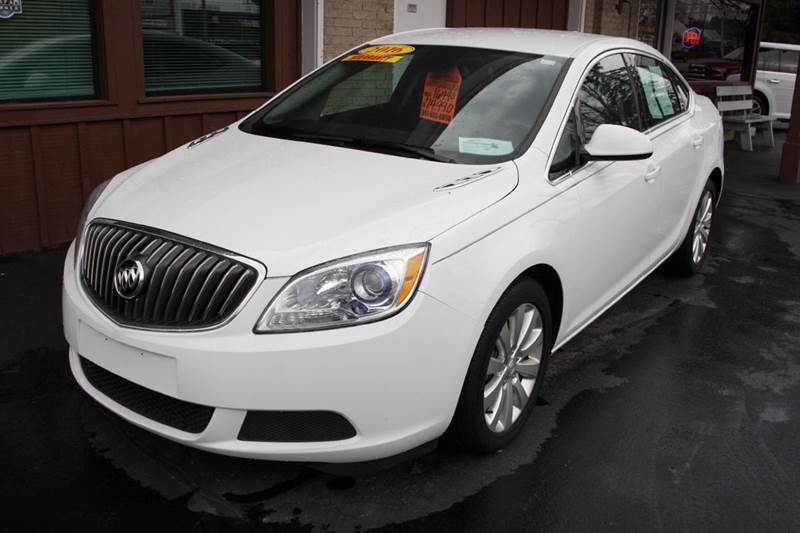 2016 BUICK VERANO BASE 4DR SEDAN W1SD white our one owner 2016 buick verano could be your perfec