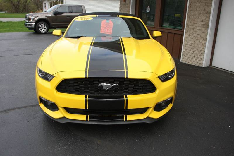 2016 Ford Mustang V6 2dr Convertible - Williamston MI