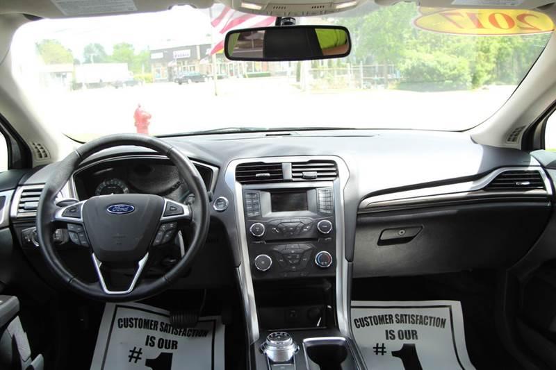 2017 Ford Fusion SE 4dr Sedan - Williamston MI