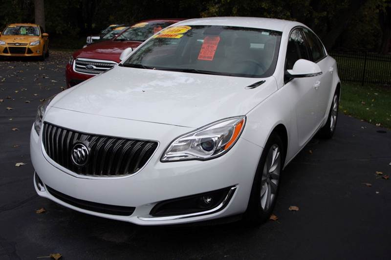 2016 BUICK REGAL BASE 4DR SEDAN white our one owner 2016 buick regal is ready to go have peace o