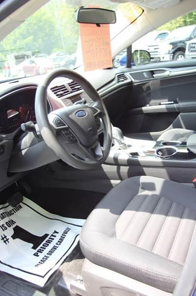 2013 Ford Fusion SE 4dr Sedan - Williamston MI
