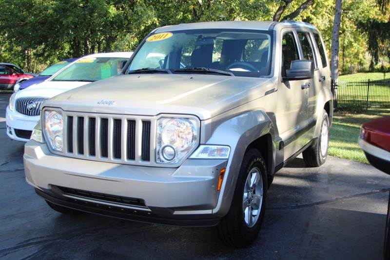 2011 JEEP LIBERTY SPORT 4X2 4DR SUV tan if you are looking for a new vehicle our 2011 jeep libert