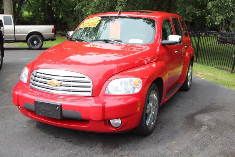 2009 CHEVROLET HHR LT 4DR WAGON W2LT red our 2009  chevrolet hhr is just waiting for you to come