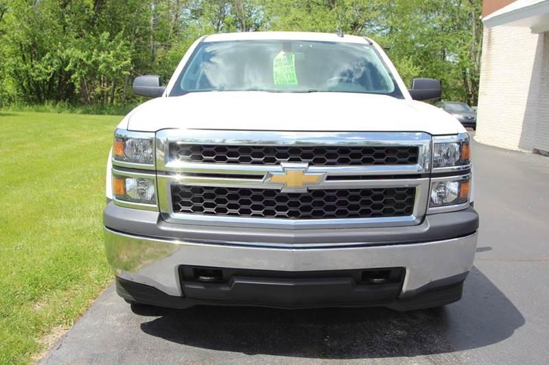 2014 Chevrolet Silverado 1500 4x4 Work Truck 4dr Double Cab 6.5 ft. SB w/1WT - Williamston MI