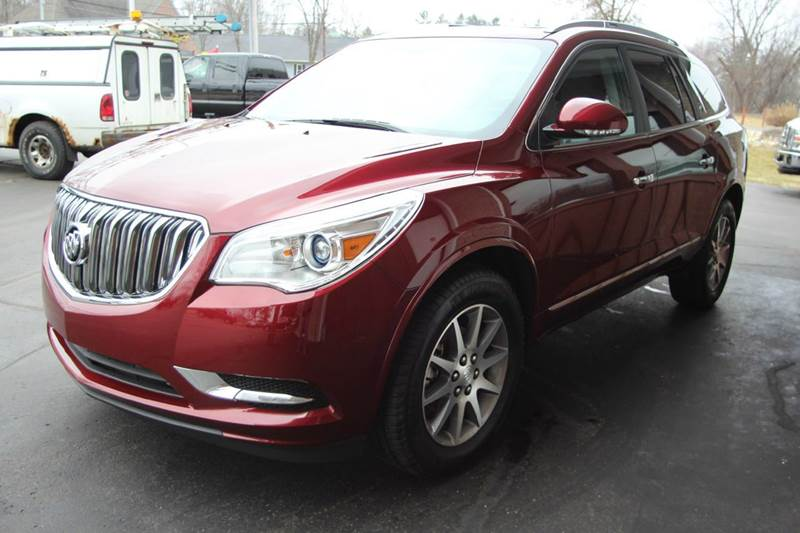 2017 BUICK ENCLAVE LEATHER AWD 4DR SUV ruby looking for a new family car with easy access to all
