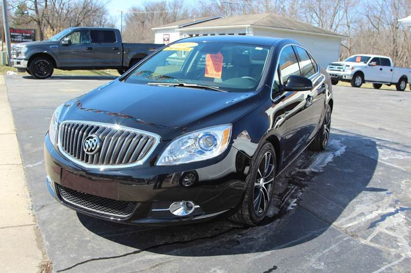 2017 BUICK VERANO SPORT TOURING 4DR SEDAN black looking for a new vehicle with some bells and whi