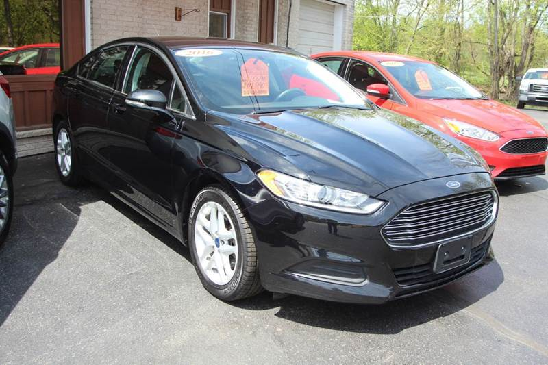 2016 Ford Fusion SE 4dr Sedan - Williamston MI