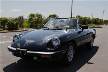 1987 Alfa Romeo Spider for sale in Benicia, CA
