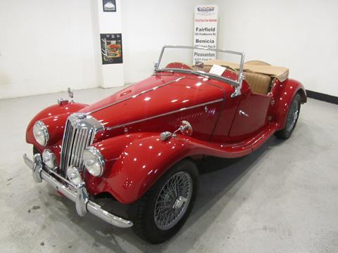 1954 MG TF for sale in Benicia, CA
