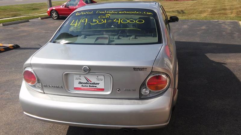 2003 Nissan Maxima GLE 4dr Sedan - Toledo OH