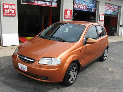 2007 Chevrolet Aveo for sale in Toledo OH