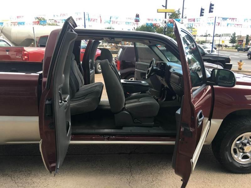 2003 Chevrolet Silverado 1500 LS 4dr Extended Cab 4WD SB - Colorado Springs CO