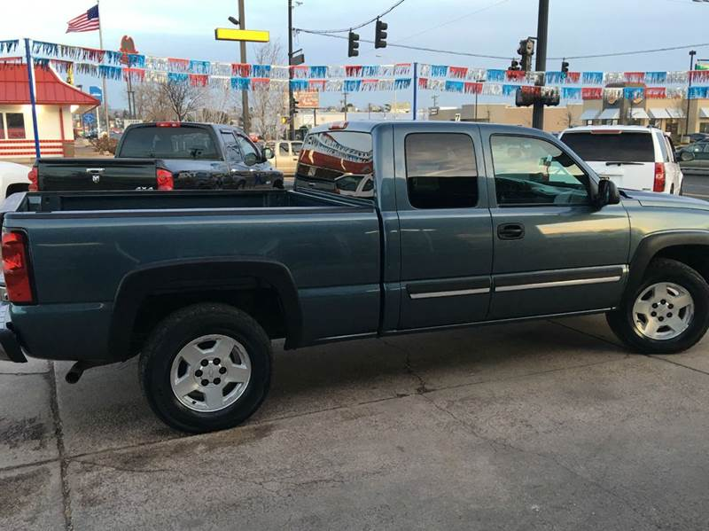 2007 Chevrolet Silverado 1500 Classic LT1 4dr Extended Cab 4WD 6.5 ft. SB - Colorado Springs CO