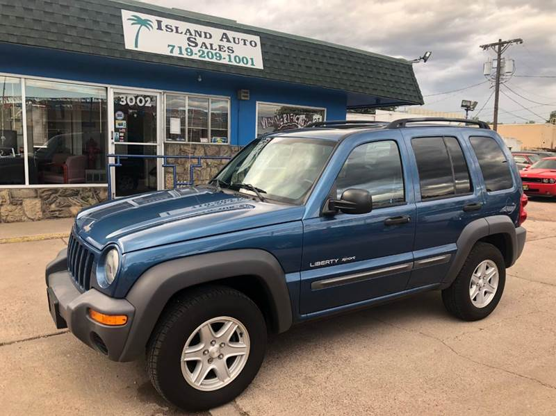 2003 Jeep Liberty Sport 4dr 4WD SUV   Colorado Springs CO