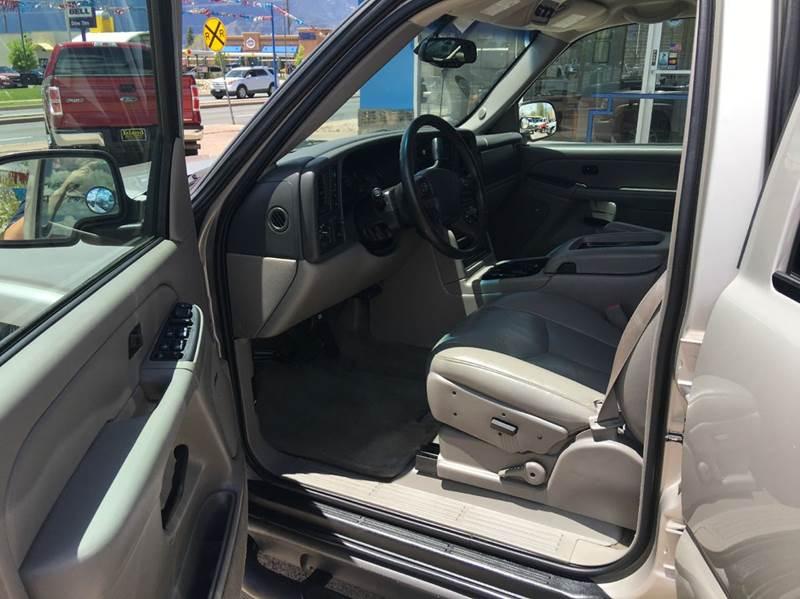 2004 Chevrolet Suburban 1500 Z71 4WD 4dr SUV - Colorado Springs CO