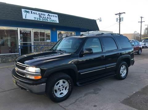 2004 Chevrolet Tahoe for sale in Colorado Springs, CO