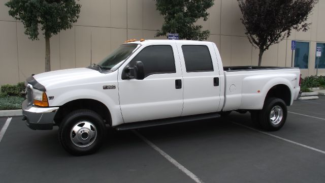 1999 FORD F350 XLT SUPER DUTY CREW CAB white 1999 ford f350 super duty crew cab dually   v8 turbo