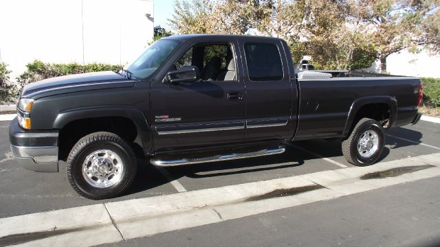 2004 CHEVROLET SILVERADO 2500 LS EXT CAB LONG BED 2WD charcoal gray 2004 chevrolet silverado 2500