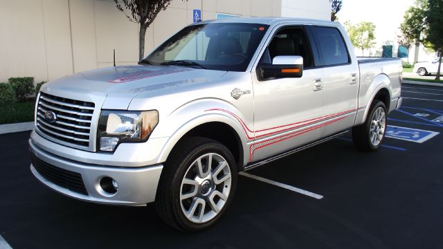 2011 FORD F-150 HARLEY-DAVIDSON 4X4 4DR SUPERCRE silver 2011 ford f150 super crew cab harley-david